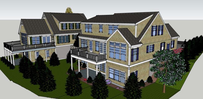 CHATHAM house 3D