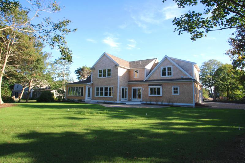 Chatham Custom Home rear view