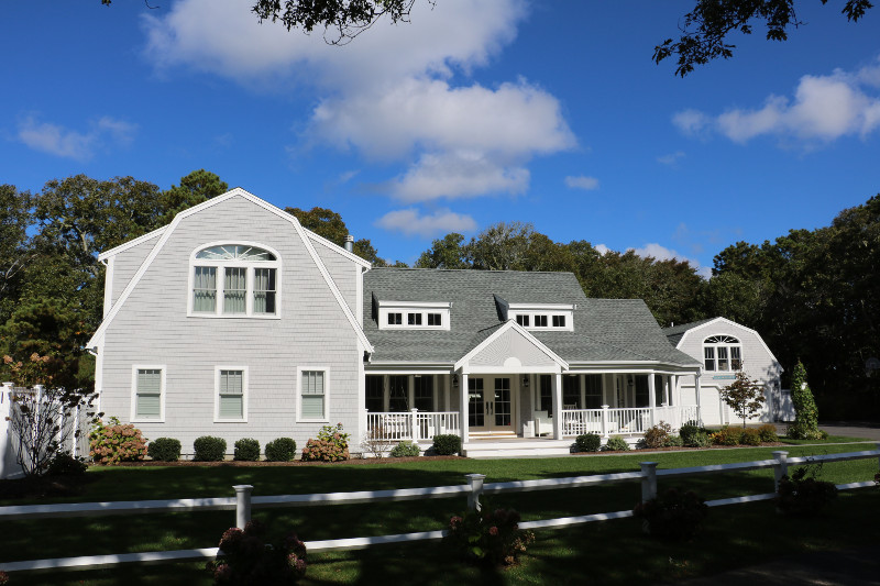 Harwichport Custom Home Exterior