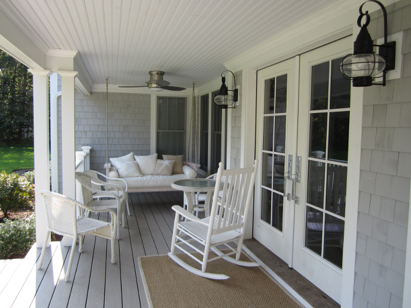 Harwichport wooden sunporch