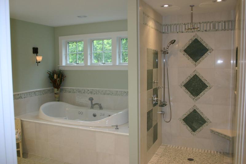 Interior design bathroom detail