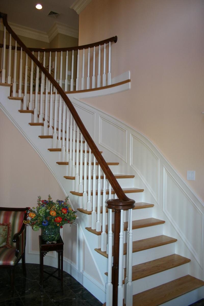 Interior design stairway